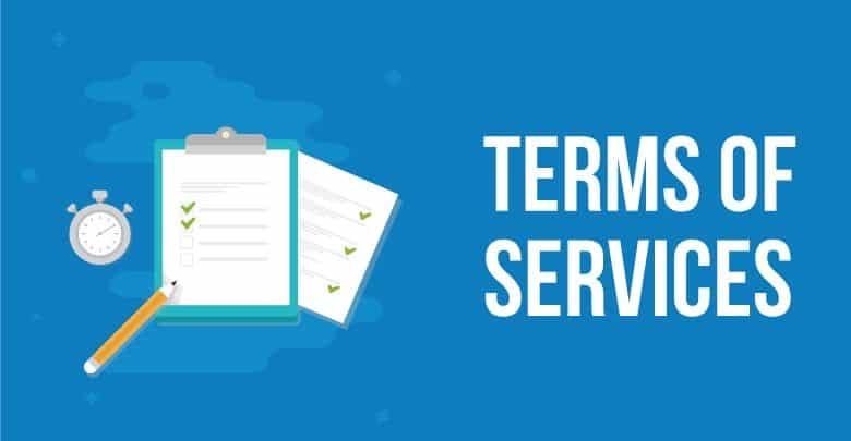 Preview Picture For Terms Of Services Page