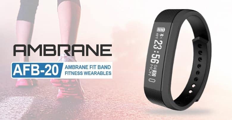 Ambrane Smart Band A F B 20