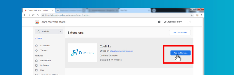Cuelinks Chrome Extention