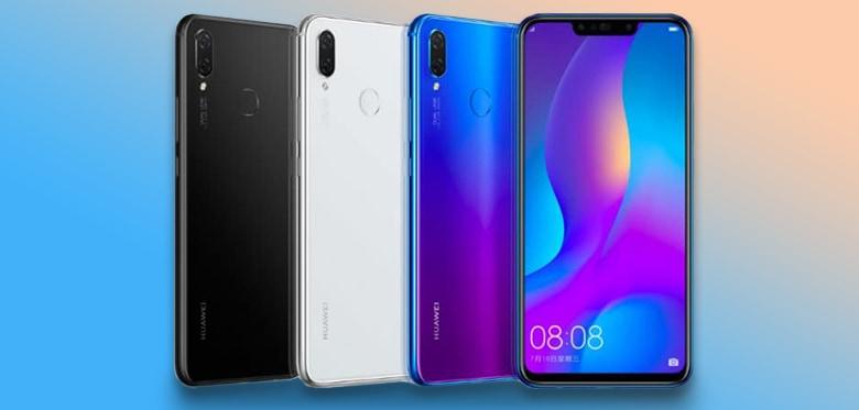 Design Of Huawei Nova 3i