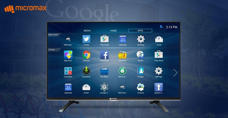 Micromax Google Cetified Smart T V