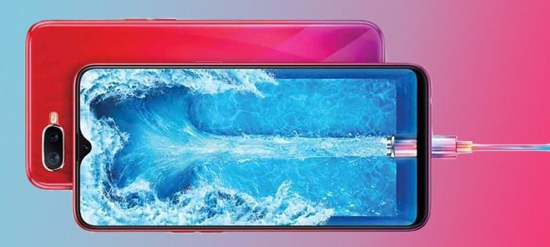 Oppo F9 Pro Display