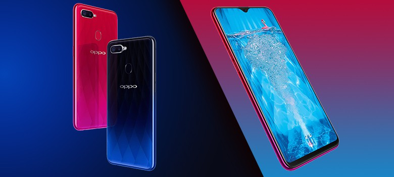 Oppo F9 Pro Mobile Phone Design