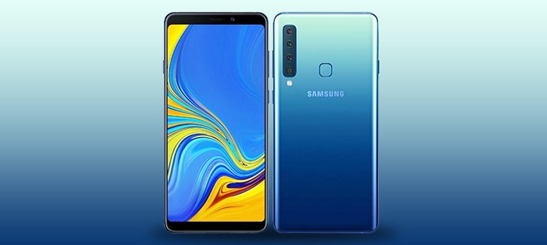Samsung Galaxy A9 Smartphone Display
