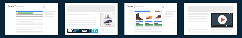 Google Ad Words Generally Provided Four Types Of Ads For Advertiser