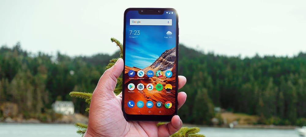 New The P O C O Phone M I U I 10 Update