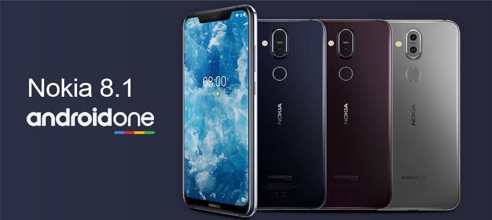 Nokia Latest Smarphone 8.1 Run On Android Pie 9.0