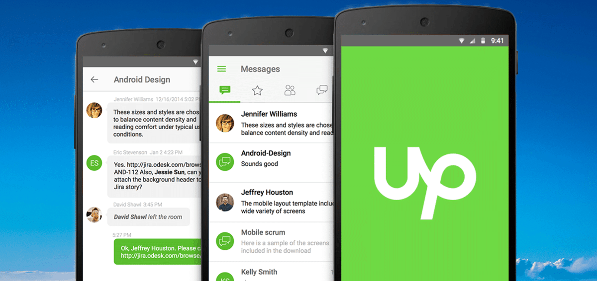 Install The Upwork For App Android And I Phone