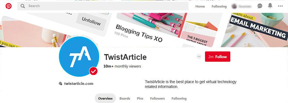Build Your Social Media Backlinks On Pinterest