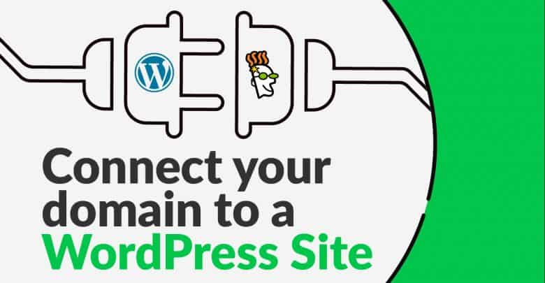 Connect The Domain Name Of Your Word Press Website In Go Daddy