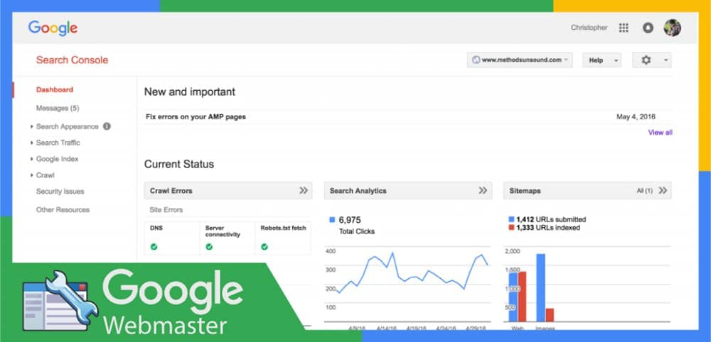 Google Webmaster Tool Is Free To Use
