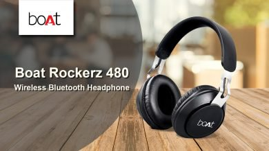 Boat Rockerz 480 Wireless Bluetooth Headphones Launched In India