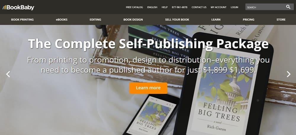Book Baby For E Book Publish