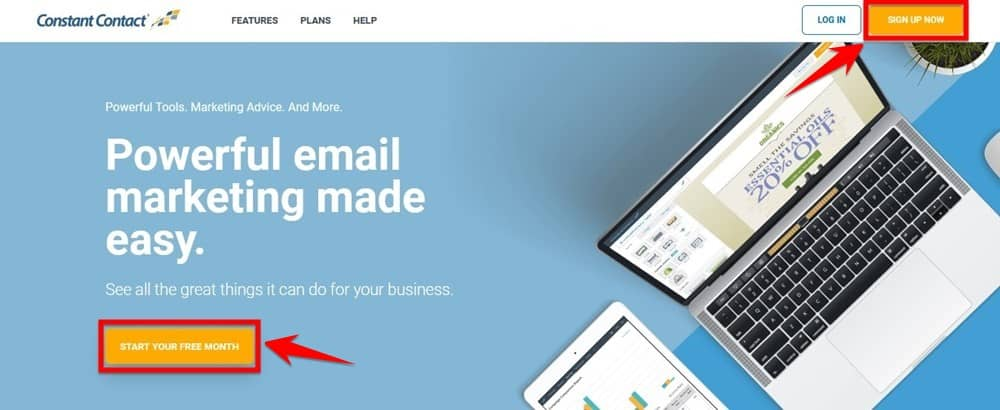 Constant Contact Is A Great Email Marketing Tools For Small Business