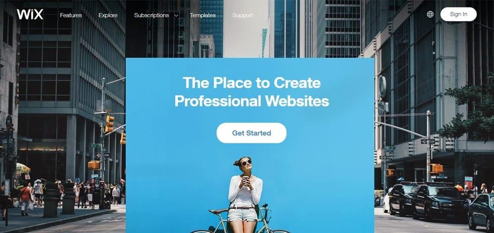 Drag And Drop Easy Website Maker Platform Wix