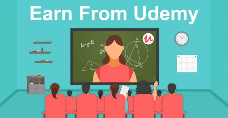 How You Can Earn From Udemy Platform