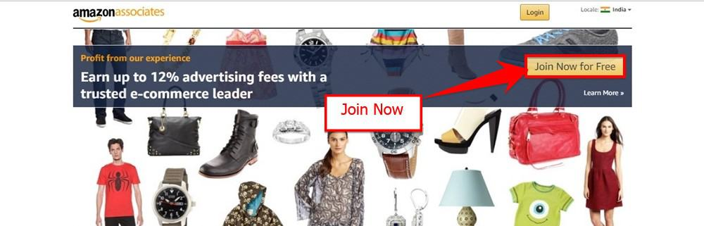 Join Amazon Affiliate Marketing Program And Earn