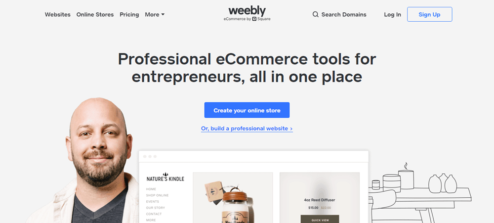 Make Your Website With Simple Website Builder Weebly