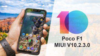 Poco F1 Start Receiving M I U I 10.2.3.0 Stable Update
