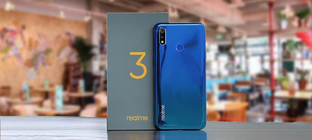 The Full Specification And Features Of Realme 3 Smartphone