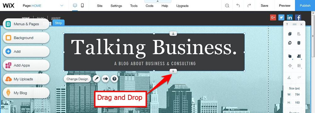 Without A Coding Knowledge You Can Create Your Site By Drag And Drop