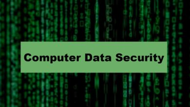 About Computer Data Security To Prevent Online Data Hackers
