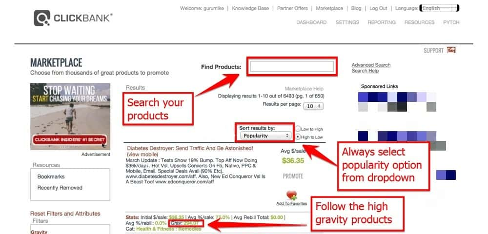 Choose The Right Product From Clickbank Affiliate Program
