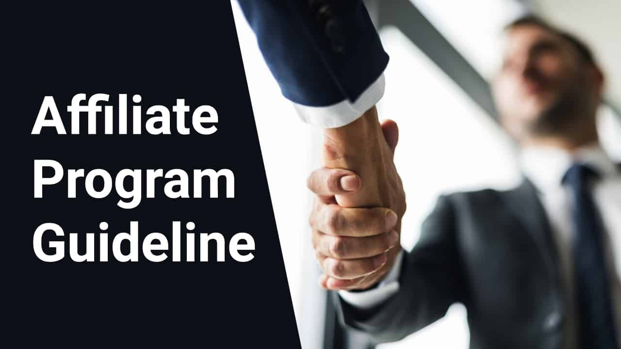 Follow The Guideline Of The Affiliate Net Work