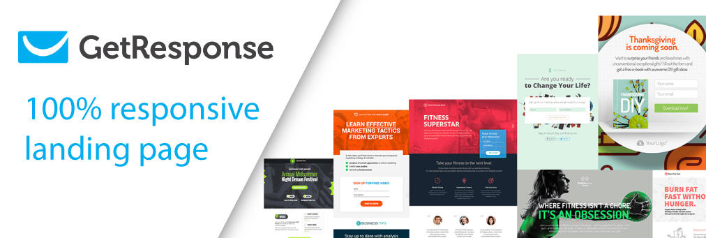Get Response Email Campaign Tool Offers Landing Page Building
