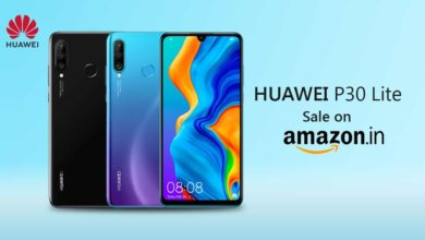 Huawei P30 Lite Sale Via Amazon India Will Be Start Today From Midnight
