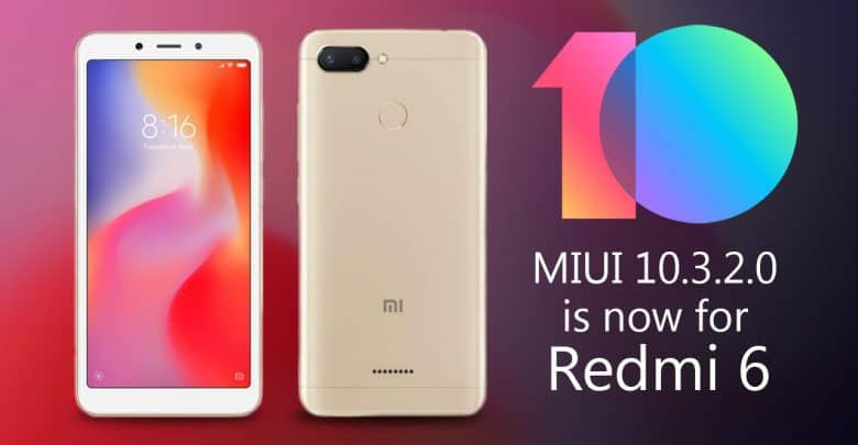 Redmi 6 Update Start In India With The New Version M I U I 10.2.3.0
