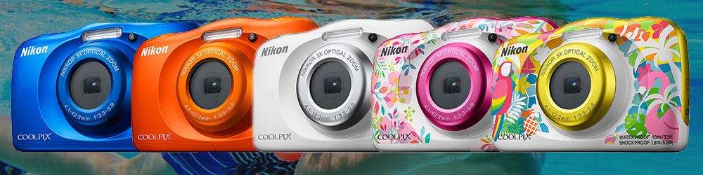 The Nikon Coolpix W150 Offers 13.2 M P Full H D Movie Recording