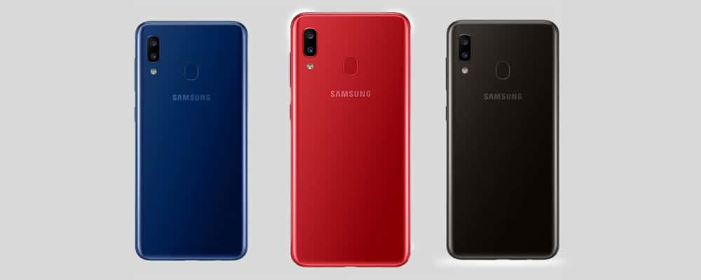 The Samsung Galaxy A20 Will Be Available In Three Color Options