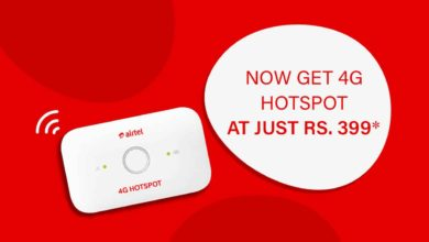 Airtel 4 G Hotspot Rental Plan Comes In India With Very Attractive Offer