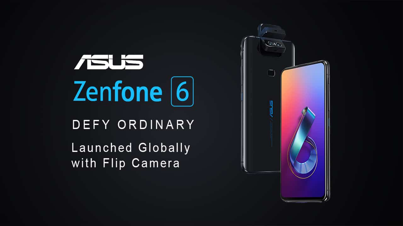 Asus Zen Fone 6 Was Launched Globally On Wednesday