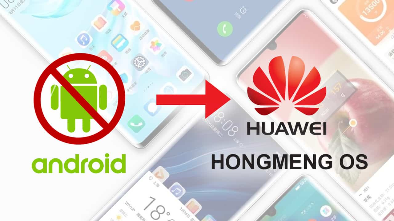 Huawei Is Readying To Prepare With Its Own Mobile OS