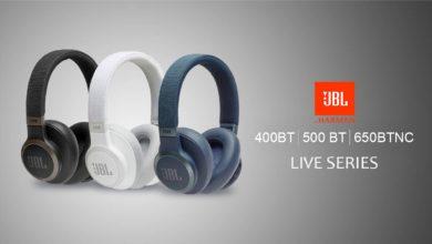 J B L Launches New L I V E Series Headphones