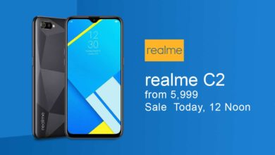Realme C2 Today Going To Sale Today Via Flipkart And Realme Own Site