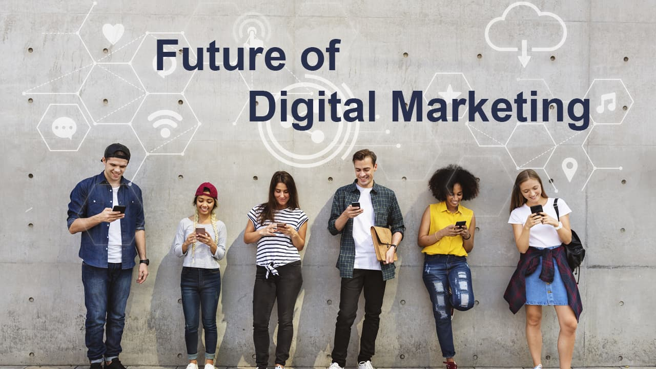 The Future Of Digital Marketing Or Digital Online Marketing Are Growing
