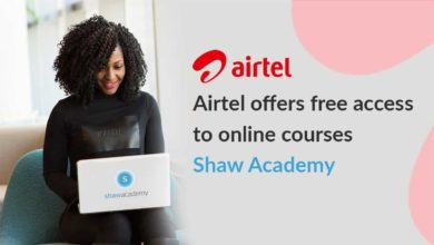 Airtel Now Offering Free Shaw Academy Courses To Platinum Customers