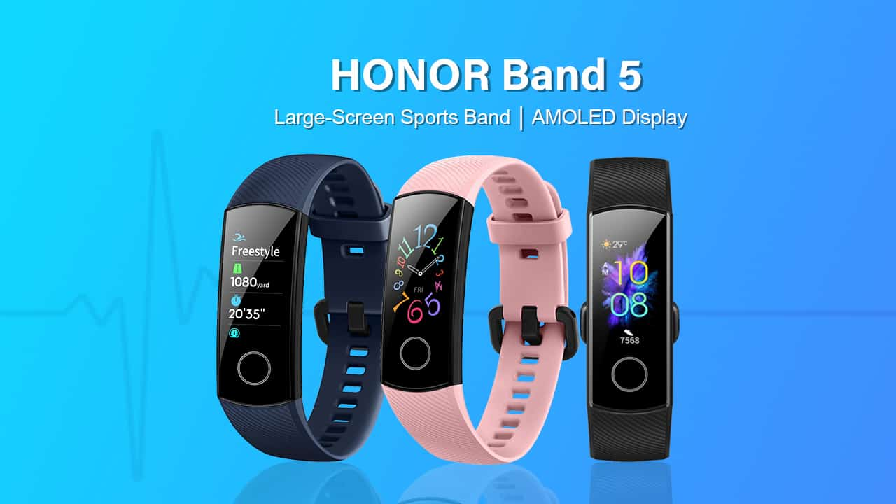 Honor Band 5 Launched In India With Amoled Display For Rs 2,599