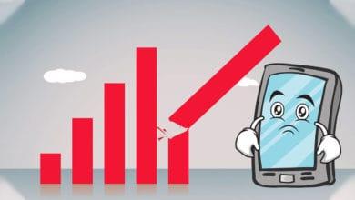 Global Smartphones Sales To Decline By 3.2%