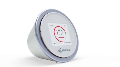 Kaiterra Launches Laser Egg C O2 Air Quality Monitor