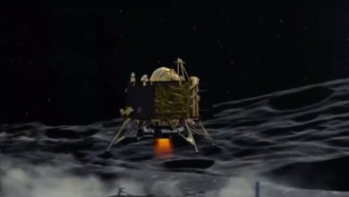 The Speed At Which It Was Travelling Didn't Give Moon Lander