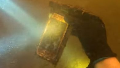 Photo of iPhone lost in river found after 15 months, it still works