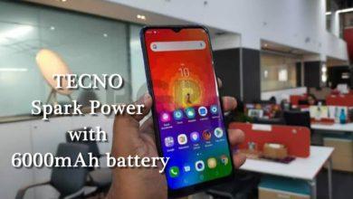 T E C N O Spark Power With 6000m Ah Battery