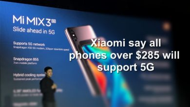 Photo of Xiaomi says all its 2020 phones over $285 will support 5G