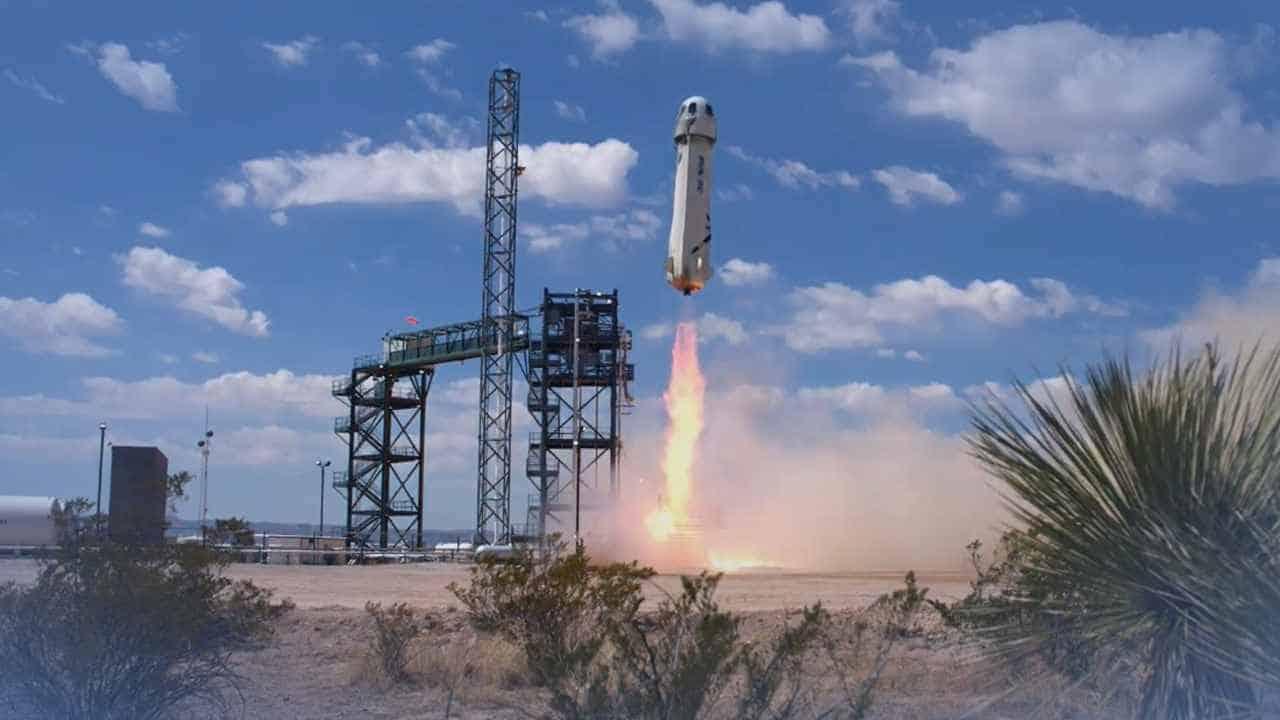 Bezos' Blue Origin Successfully Launches