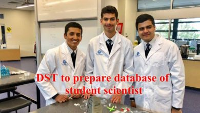 Photo of DST to prepare database of student scientist