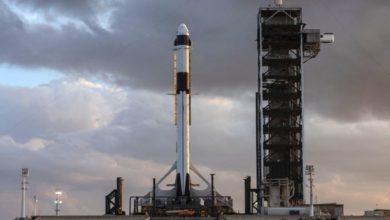 Dragon Spacecraft Delivers Cargo